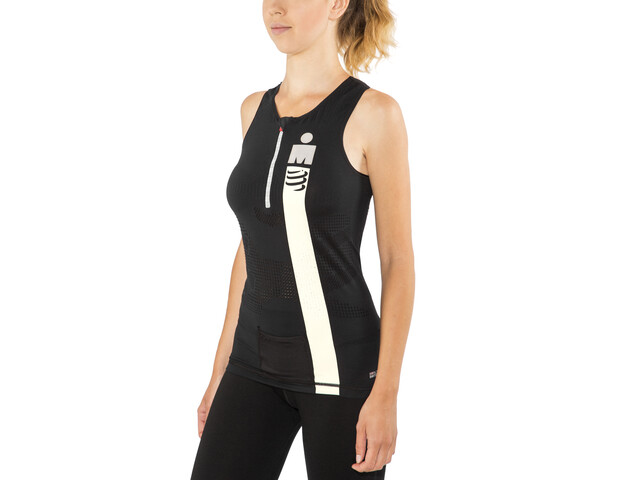 Compressport TR3 Triathlon Canotta Ironman Edition Donna, smart black